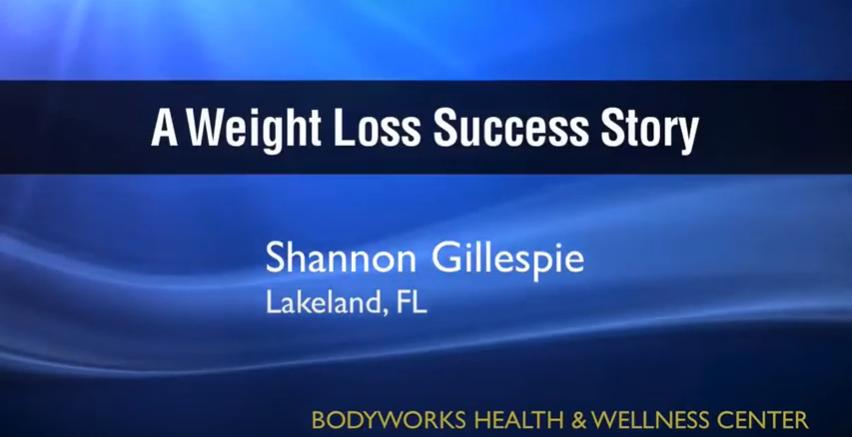 Shannon Gillespie Bodyworks Testimonial
